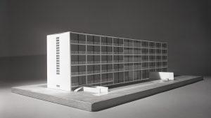 Werner Wirsing - Geschwister Scholl Wohnheim 1957 © Architekturmuseum der TU München