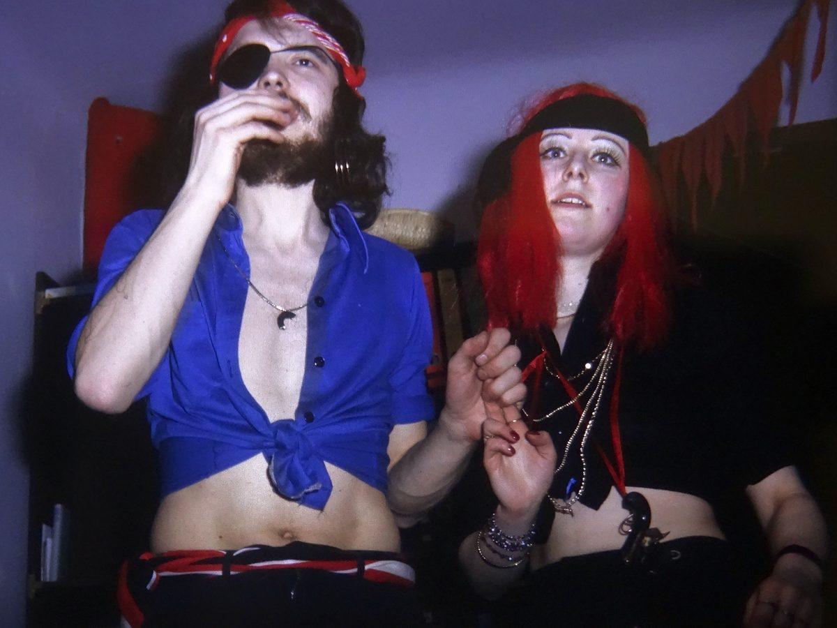 Fasching 1976 zusammen mit Ulla Basler