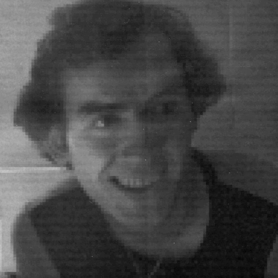 Eines der ersten Digitalphotos, aufgenommen am Institut für Nachrichtentechnik