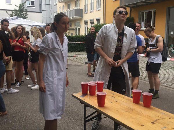 Bierpongturnir Sommerfest 2019